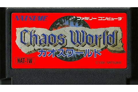 TGDB - Browse - Game - Chaos World