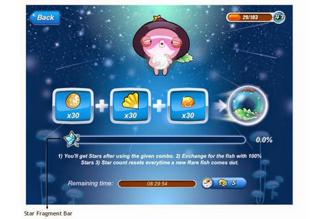Happy Fish Tips (iOS Devices): Synth Game: Star Fragment Trick