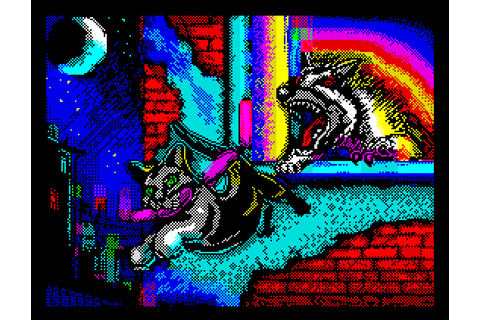 Indie Retro News: Alley Cat - Atari/DOS cat classic as a ...