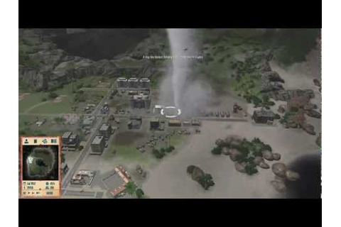 Tropico 4 Demo - TORNADO! - YouTube