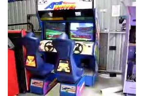 Ace driver twin game by namco! - YouTube