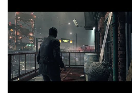 Quantum Break - Gameplay Premiere Gamescom 2014 - YouTube