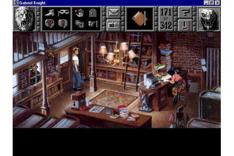 Game News: Classic adventure game Gabriel Knight: Sins of ...