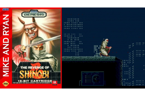 The Revenge of Shinobi (Sega Genesis) Mike & Ryan - YouTube