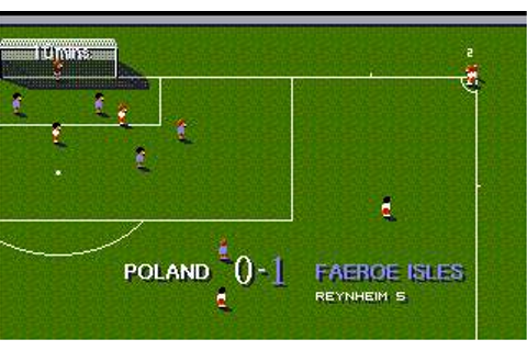 Sensible World of Soccer: European Championship Edition ...