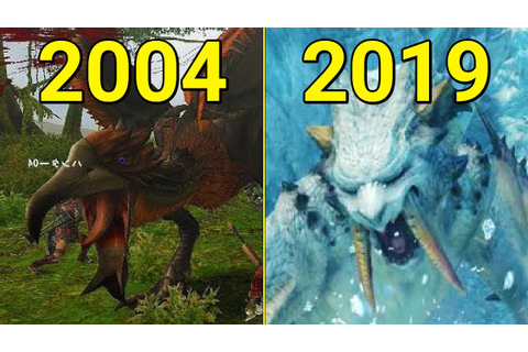 Evolution of Monster Hunter Games 2004-2019 - YouTube