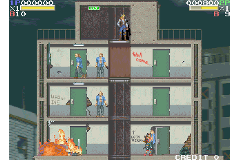 Elevator Action Returns (1994) Arcade game