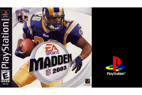 Madden NFL 2003 (Sony Playstation) Eagles vs Titans ...