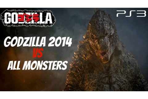 Godzilla The Game - Godzilla 2014 Vs. All Monsters [1440p ...