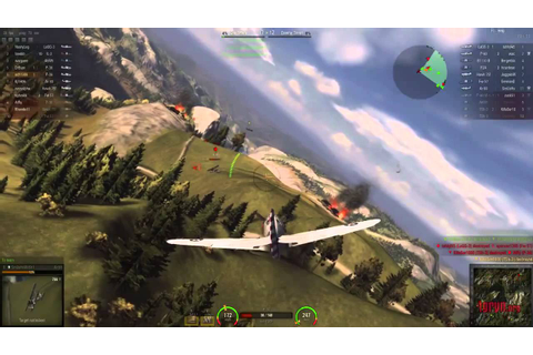 Игра World of Warplanes геймплей - YouTube