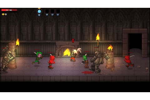 Rampage Knights - cooperative beat 'em up crawling game ...