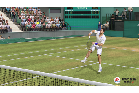 Grand Chelem Tennis 2 : Démo jouable sur le court central ...