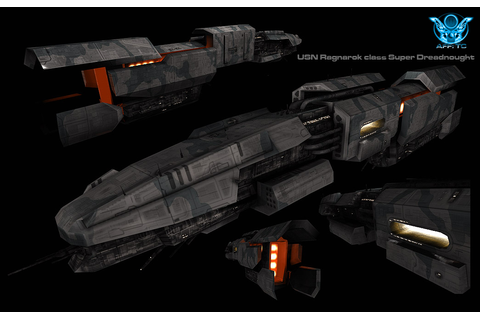 "USN ""Ragnarok"" class Super Dreadnought image - Angels Fall ..."