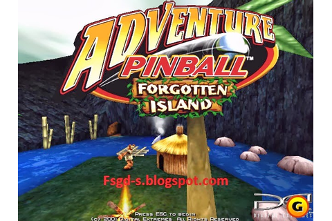 PC Games Download: Adventure Pinball Forgotten Island Game Pc