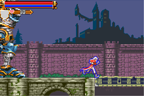 Game: Castlevania: Harmony of Dissonance [Game Boy Advance ...