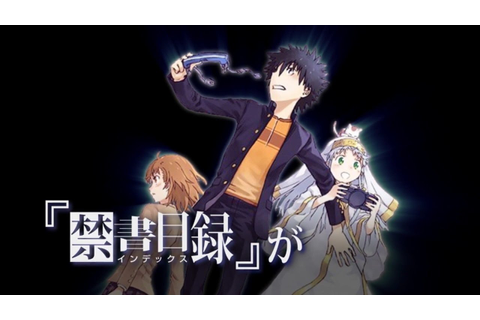 A Certain Magical Index Fighting game Announced! PS4/Vita ...