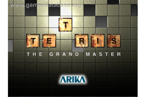 Tetris The Grand Master - Arcade - Games Database