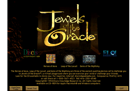 Скриншоты Jewels of the Oracle на Old-Games.RU