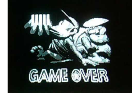 Donkey Kong Land 2 - Game Over Screen - YouTube