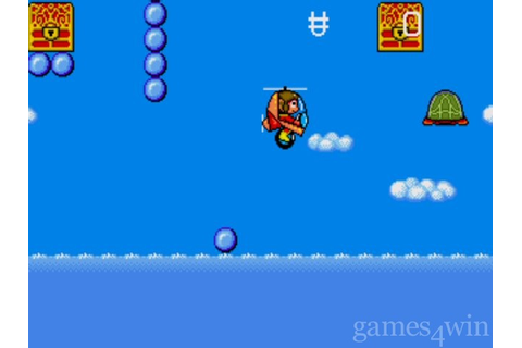 Alex Kidd in the Enchanted Castle Download on Games4Win