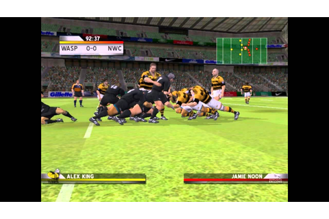 Rugby Challenge 2006 PC 2006 Gameplay - YouTube