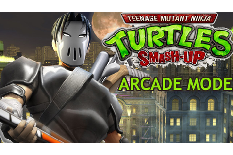 Teenage Mutant Ninja Turtles Smash Up Arcade With Casey ...