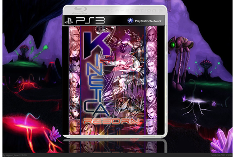 Kinetica: Reborn PlayStation 3 Box Art Cover by pigeon_face