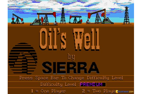 Oil's Well (Sierra, 1990) download PC