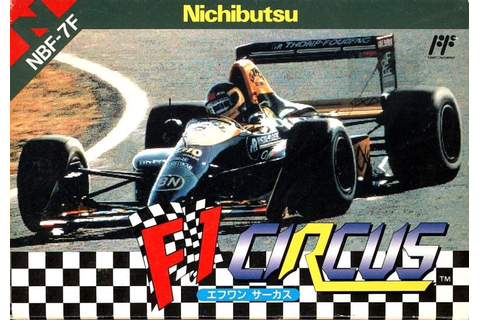 F1 Circus for NES (1992) - MobyGames