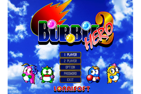 Free Games For Everyone: Bubble Bobble Hero 2