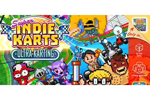 Save 40% on Super Indie Karts on Steam