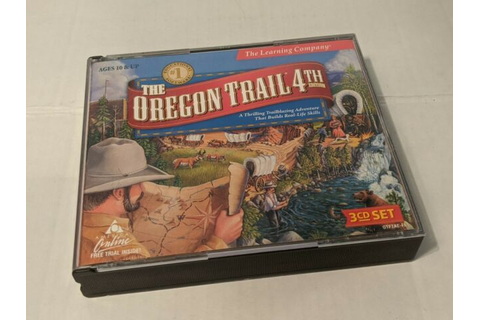 THE OREGON TRAIL 4th Edition! 3-CD Set! PC Video Game! | eBay