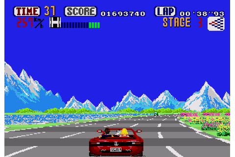 OutRun (USA, Europe) ROM