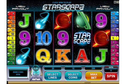 Play Starscape Video Slot Free at Videoslots.com