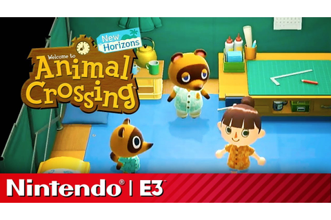 24 Minutes of Animal Crossing New Horizons Gameplay ...