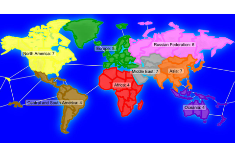 8 SPowers World Map