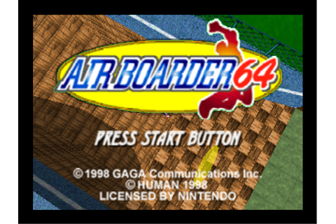 Air Boarder 64 (Europe) ROM