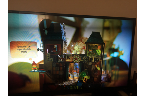 Puzzle adventure game Lumino City is even better with Apple TV
