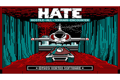 [Amstrad CPC] HATE - Hostile All Terrain Encounter ...