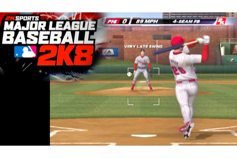 Major League Baseball 2K8 ... (PS2) - YouTube