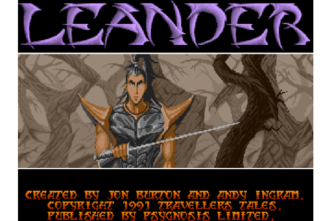 Leander - The Company - Classic Amiga Games