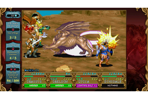 Dungeons & Dragons Chronicles of Mystara HD (PS3 ...