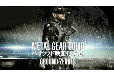 Gaming Till Dawn: NEWS: Metal Gear Solid V: Ground Zeroes ...