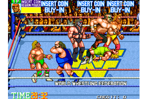 WWF WrestleFest - Videogame by Technos