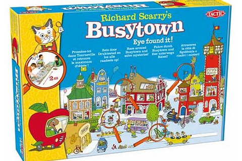 Tactic Richards Scarrys Busytown Eye Found It Board Game ...