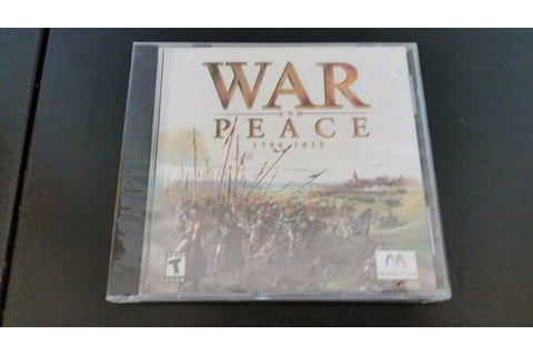 New - Factory Sealed - War and Peace - 1796 - 1815 - by ...