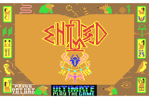 Entombed (1985) by Ultimate Play The Game C64 game