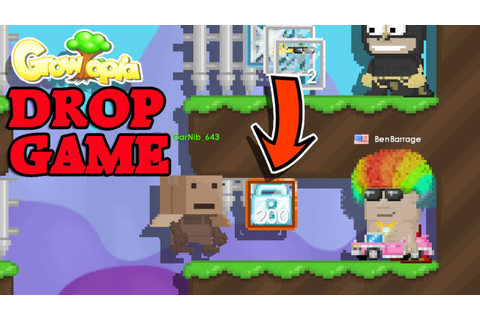 Why you should never play DROP GAMES! :( | Growtopia - YouTube