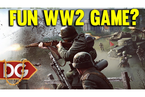 ACTUAL FUN WW2 GAME ?? - HEROES AND GENERALS - YouTube