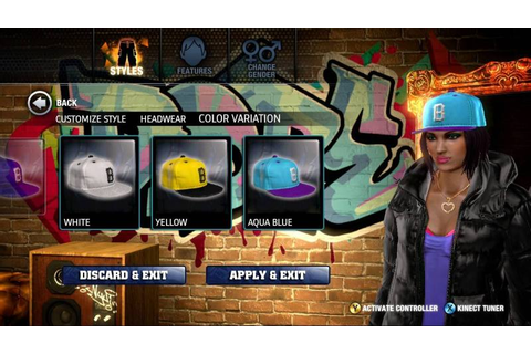 The Hip Hop Dance Experience KINECT - XBOX 360 igra ...